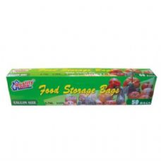 48 of Food Storage Bags 50CT Gallon Size