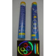 "40 of 50pc 8"" Glow Sticks with Connecters"