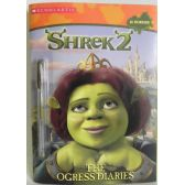 50 of Shrek2 Ogress Diaries Coloring and Activity Book Includes Gel Pen