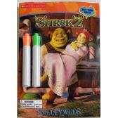 50 of Shrek2 Smellyweds Coloring and Activity Book with 2 Markers