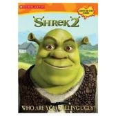 50 of Shrek2 Who Are You Calling Ugly Sticker and Coloring Book