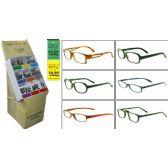 300 of PLASTIC ASST Reading Glasses W/ DISPLAY