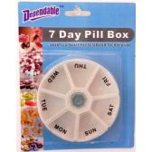48 of Deluxe 7 Day Pill Box