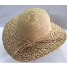 36 of Ladies Summer Hat With Bow Around