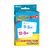144 of BAZIC Subtraction Flash Cards (36/Pack)