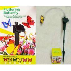 48 of Garden Solar & Battery Fluttering Butterfly