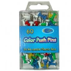 48 of Color Push pins 60ct
