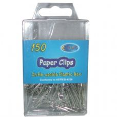 48 of Silver Paper Clips 150ct