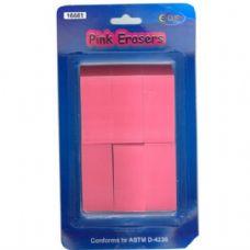 48 of Pink Erasers 6pk