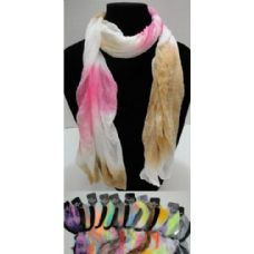 12 of Sheer Scarf-Tie Dye