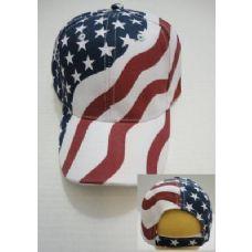24 of American Flag Ball Cap