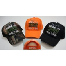 24 of BORN TO HUNT-FORCED TO WORK Hat