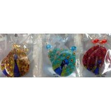120 of Teardrop Shape Shell Peacock Earring