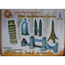 48 of Architecture 3D Puzzle Worlds Famous Buildings