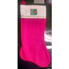 "180 of 17"" Large Red Velvet Christmas Stocking"