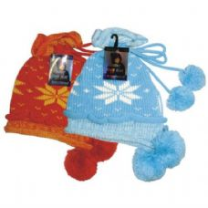 24 of Winter Knit Hat w/ Pom Pom