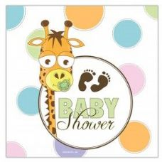 144 of Baby Shower Lunch Napkin 16 Ct.