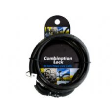 24 of combination cable lock