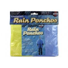 72 of Emergency rain ponchos