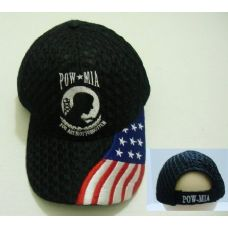 24 of Air Mesh POW Hat [Flag on Bill]