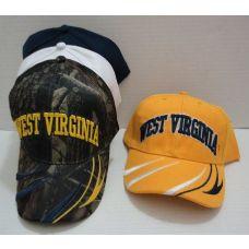 24 of WEST VIRGINIA Hat [Stripes on Bill]