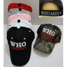 24 of WHO CARES? Hat