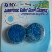 72 of Automatic Toilet Bowl Cleaner 2 Pack Blue  Drop Ins