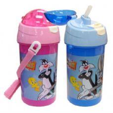 48 of Looney Tunes Water Bottle Flip Cap 17oz