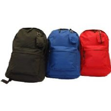 "24 of 17"" Premium Quality Backpack-Blue only"