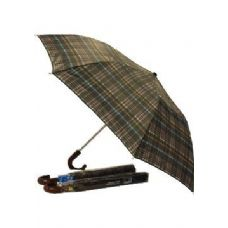 "24 of Umbrella -48"" Auto King size W/burgundy handle"