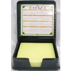48 of Memo Paper in Leather Holder