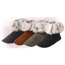 """30 of Isadora"""" Womens Bootie Slippers"""