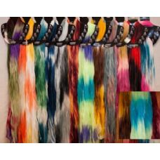 72 of Tie Dye Design Light Weight Scarves in Assorted Colors