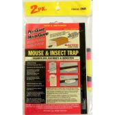 36 of 2 Pack Mouse and Insect Trap Baited
