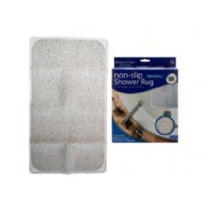 "6 of 28"" x 17"" Non-Slip Shower Rug"