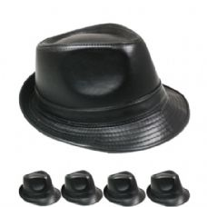 24 of Fedora Hat All Black