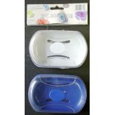 48 of Wholesale 2 Pack Plastic Soap Dish