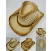 24 of Paper Woven Cowboy Hat [Open Weave]