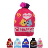 72 of KID WINTER HAT HAPPY PRINT