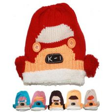 72 of KID'S WINTER HAT - CAR DESIGN