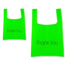 "288 of SH0PPING BAG 45X55CM GREEN CLR17.7""X21.7"""