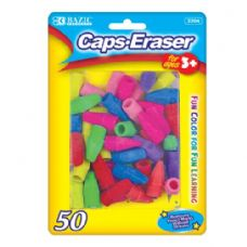 48 of BAZIC Neon Eraser Top (50/Pack)