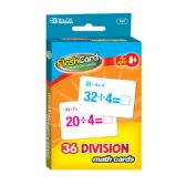 48 of BAZIC Division Flash Cards (36/Pack)
