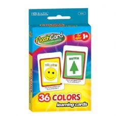 48 of BAZIC Colors Preschool Flash Cards (36/Pack)