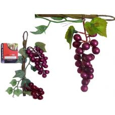 144 of GRAPES ON STEM 2PC DECORATION