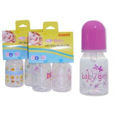 72 of Baby Bottles- 2 Piece 4 oz Bottles