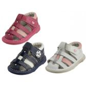 24 of Baby Leather Sandals