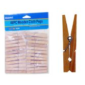 48 of CLOTH PEGS 48PC WOODEN