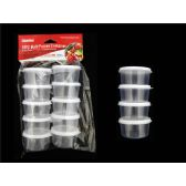 48 of 10pc Round Multipurpose Containers