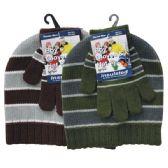 36 of Winter Set Hat & Glove Boys
